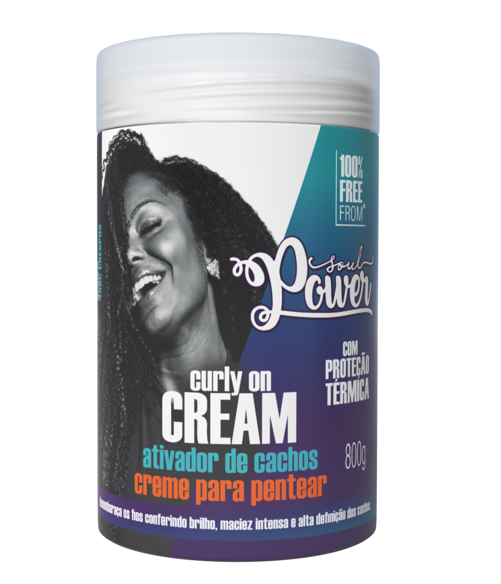 CURLY ON CREAM - POTÃO 800g