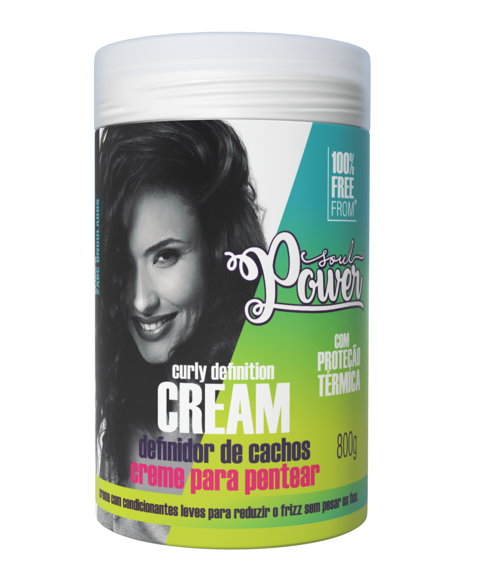 CURLY DEFINITION CREAM - POTÃO 800g