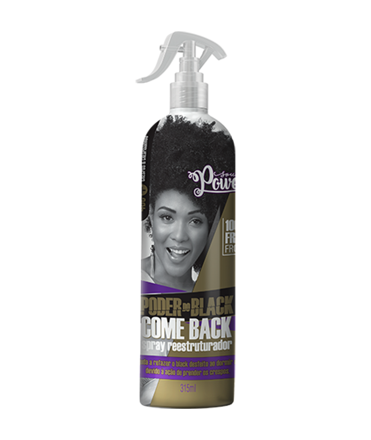 PODER DO BLACK SPRAY REESTRUTURADOR COME BACK