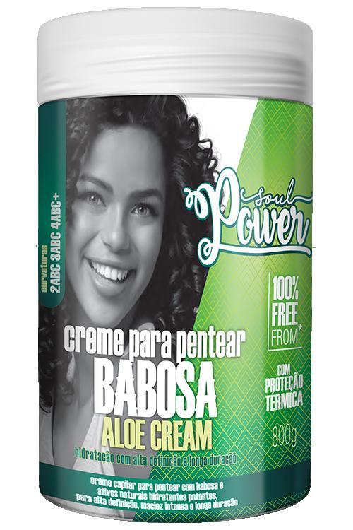 CREME PARA PENTEAR POTÃO BABOSA