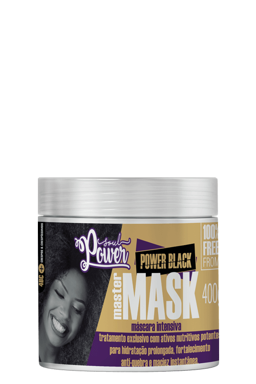 Power Black Master Mask